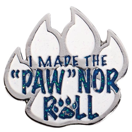 "I Made the ""Paw""nor Roll Pin"