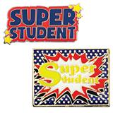 Award Pin Set - Super Student