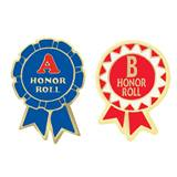 Award Pin Set- A and B Honor Roll Ribbons