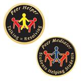 Award Pin Set - Peer Mediator/Peer Helper