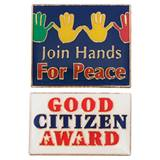 Award Pin Set - Citizenship