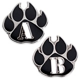Award Pin Set - Black Paw A and B Honor Roll