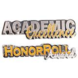 Award Pin Set - Honor Roll/Academic Excellence