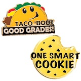 Award Pin Set - Good Grades Taco/Smart Cookie