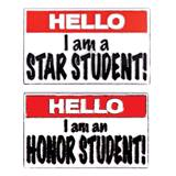 Award Pin Set - Hello! Honor Student/Star Student