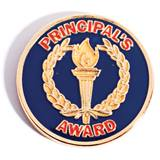 Principal's Award Pin - Gold Torch