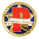 "Award Pin - Big ""P"" Principal's Award"