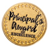 Gold Principal's Award of Excellence Pin
