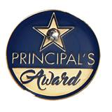 Principal's Award Pin - Bling Star