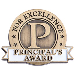 Principal's Award Pin - Principal's Award For Excellence