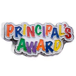 Principal's Award Pin - Colorful Letters