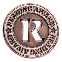 Bronze Reading Award Pin