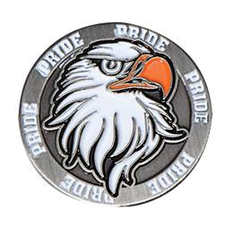 Eagle Pride Mascot Pin