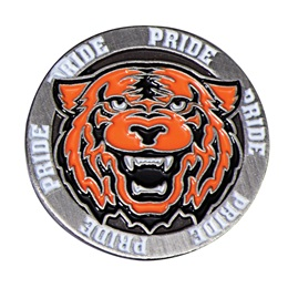 Tiger Pride Mascot Pin