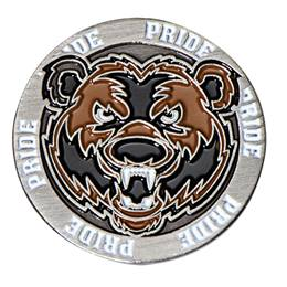 Bear Pride Mascot Pin