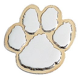 Award Magnet - Gold/Silver Paw