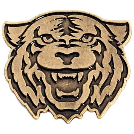 Gold Metal Tiger Pin