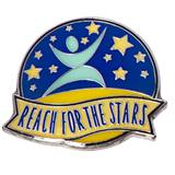 Character Award Pin - Reach for the Stars