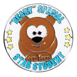 "Award Pin - ""Beary"" Special Star Student"