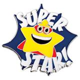 Super Star with Cape Pin