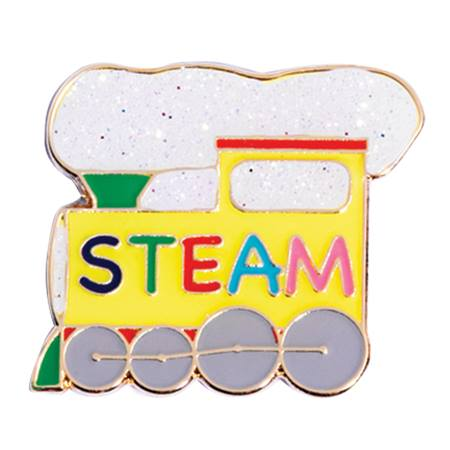 STEAM Award Pin - Steam Engine Train