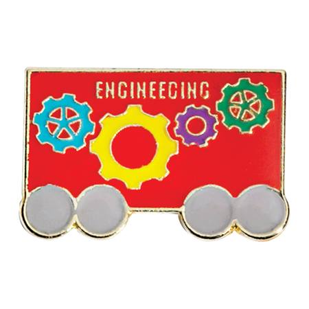 STEAM Award Pin - Engineering Train Car
