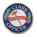 Student Council Award Pin - Class Officer/Vice President