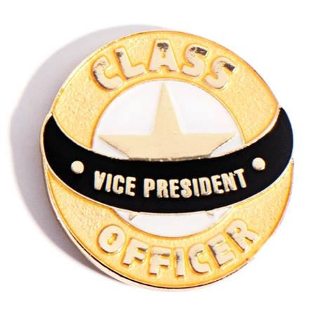 Student Council Award Pin -Class Officer Vice President