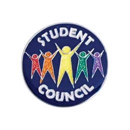 Student Council Award Pin - Glitter People