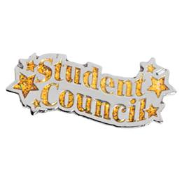 Gold Star Student Council Pin