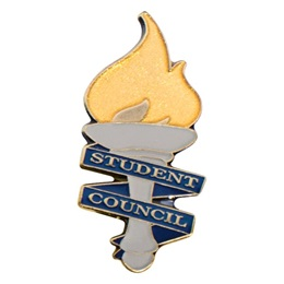 Student Council Torch Pin