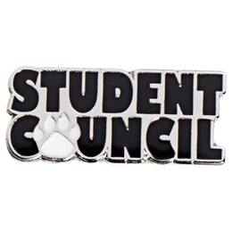 Student Council Paw Pin