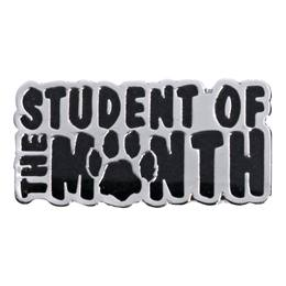 Student of the Month Award Pin - Glitter Paw