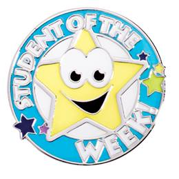 Award Pin - Student of the Week