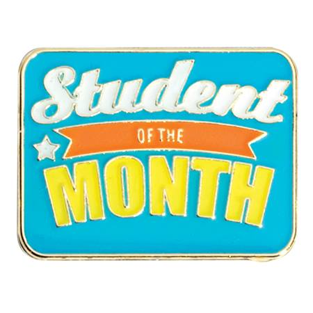 Student of the Month Award Pin - Star