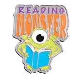 Award Pin - Reading Monster
