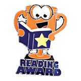Award Pin - Reading Award Trophy