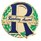 Award Pin - Reading Award Laurels