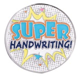 Award Pin - Super Handwriting