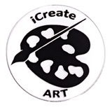 Award Pin - iCreate Art