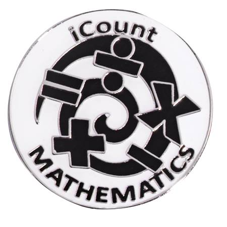 Award Pin - iCount Math
