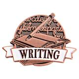 Brushed Metal Writing Pin