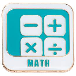 STEM Award Pin - Math