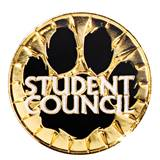 Award Pin - Student Council Paw Burst