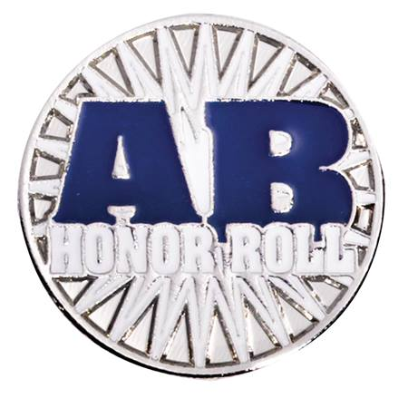 Award Pin - AB Honor Roll