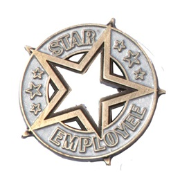 Star Employee Pin