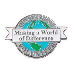 World of Difference Pin