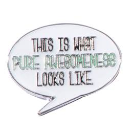 Pure Awesomeness Pin