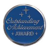 Outstanding Achievement Award Pin