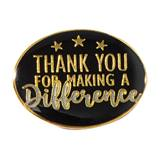 Thank You for Making a Difference Pin